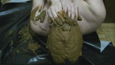 Excellent Bdsm Complete Scene With  80 % Toilet Slavery And Enormous Diarheea