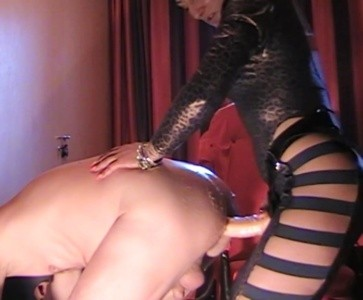 Mistress Anita More Kinky Humiliation And Strapon Fucking