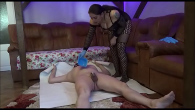 Mistress Roberta - Spoon Feeding After Serving - Full
