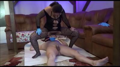 Mistress Roberta - Spoon Feeding After Serving Part  2