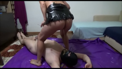 Mistress Victoria - Beating And Feeding Pot With Shit And Cigarette