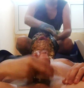 Scat Goddess And Her Friend Use Toilet Slave
