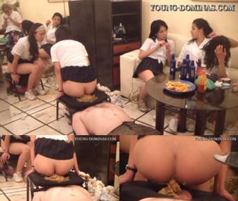 6 Students Fill Up Their Toilet Slave Part  7