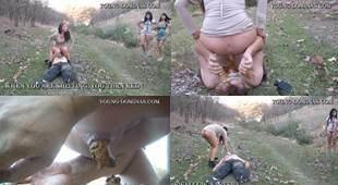 Toilet Slave Outback Walk Part  5 Sd