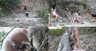 Toilet Slave Outback Walk Part  2 Sd